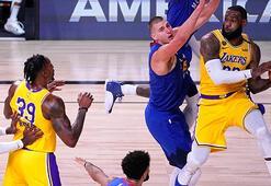 NBAde Los Angeles Lakers, konferans finallerine galibiyetle başladı