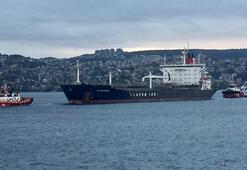 İstanbul Boğazında makine arızası nedeniyle sürüklenen tanker kurtarıldı