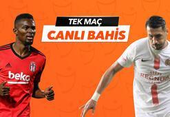 Beşiktaş - Antalyaspor karşılaşmasında Canlı Bahis heyecanı Misli.comda