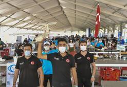 Teknofestte drone yarışması heyecanı
