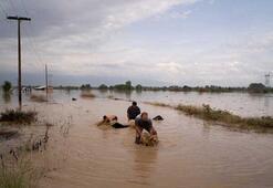 Yunanistanı Akdeniz Kasırgası vurdu