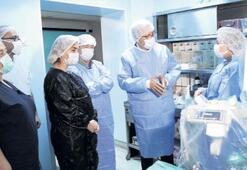 Ege'nin anestezi cihazları yenilendi
