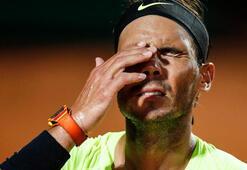 Nadal, Roma Açık Tenis Turnuvasına veda etti