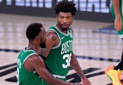 NBAde Boston Celtics, konferans finallerinde ilk galibiyetini aldı