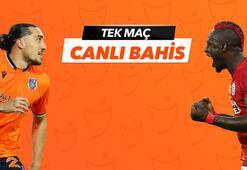 Başakşehir - Galatasaray karşılaşmasında Canlı Bahis heyecanı Misli.comda