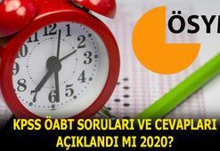 KPSS ÖABT soruları ve cevapları ne zaman açıklanacak 2020 KPSS ÖABT sınav soruları ve cevap anahtarı yayımlandı mı