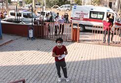 KPSSye ambulans ve polis eşliğinde getirildi
