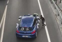 Gelin arabası sürücüsü çocuğun üzerine direksiyon kırdı