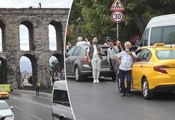 Son dakika... İstanbulda intihar girişimi İzlemek için araçlarından indiler...