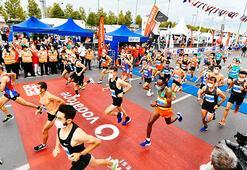 Vodafone İstanbul Yarı Maratonu yapıldı...
