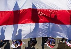 Belarusta dikkat çeken bayrak 9 Ağustostan beri devam ediyor...