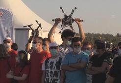 Gaziantepte TEKNOFEST kapsamında düzenlenen İHA yarışları tamamlandı