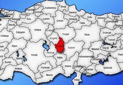 Nevşehir Haritası: Nevşehir İlçeleri Nelerdir Nevşehir İlinin Nüfusu Kaçtır, Kaç İlçesi Vardır