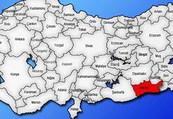 Mardin Haritası: Mardin İlçeleri Nelerdir Mardin İlinin Nüfusu Kaçtır, Kaç İlçesi Vardır