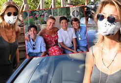 Gülben Ergen çocuklarını okula yollayacak