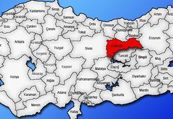 Erzincan Haritası: Erzincan İlçeleri Nelerdir Erzincan İlinin Nüfusu Kaçtır, Kaç İlçesi Vardır