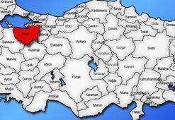 Bursa Haritası: Bursa İlçeleri Nelerdir Bursa İlinin Nüfusu Kaçtır, Kaç İlçesi Vardır