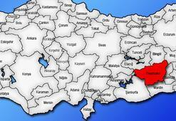 Diyarbakır Haritası: Diyarbakır İlçeleri Nelerdir Diyarbakır İlinin Nüfusu Kaçtır, Kaç İlçesi Vardır