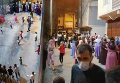 Koronavirüsün hiçe sayıldığı halaylı düğüne 13 bin lira ceza