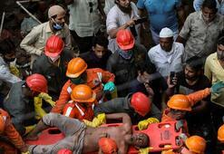 Hindistanda bina çöktü: 10 ölü, 11 yaralı
