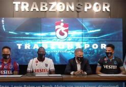 Trabzonsporda yeni transferler için imza töreni düzenlendi...
