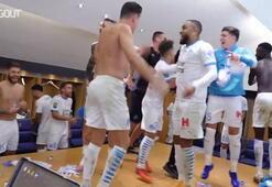 Marsilyada PSG karşısında 20 maç sonra galip gelmenin sevinci