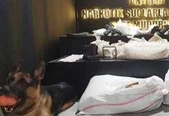 Antalyada 41 kilogram uyuşturucuya 3 tutuklama