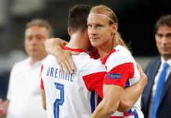 Hırvat futbolcular Vida ve Meljnaka milli davet
