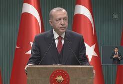 Cumhurbaşkanı Erdoğan: Biz kimsenin hakkına, hukukuna, onuruna el uzatmıyoruz.