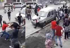 Mahalle karıştı Polis tek tek sokaktan topladı