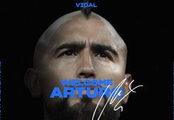 Inter 1 milyon euroya Vidali transfer etti