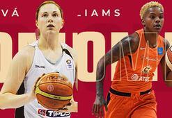 Son dakika   Courtney Williams ve Hruscakova Galatasarayda