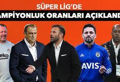 Son dakika | Süper Lig şampiyonluk oranları güncellendi