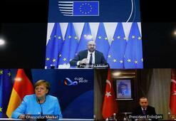 Son dakika... Erdoğan, Merkel ve Michel arasındaki kritik toplantı sona erdi