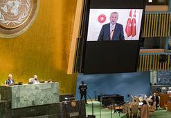 Cumhurbaşkanı Erdoğanın İsrail eleştirilerini duyunca salonu terk etti