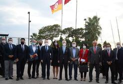 Galatasaray Yönetim Kurulu Kalamış'ta bir araya geldi