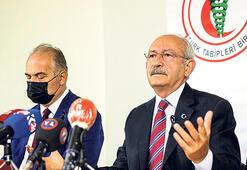 CHP lideri TTB'yi ziyaret etti: Hükümeti kim uyaracak