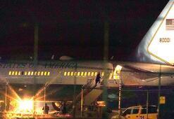 Pencein uçağı New Hampshiredeki havalimanına zorunlu dönüş yaptı
