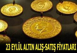 Altın fiyatları son durum: 23 Eylül bugün gram ve çeyrek altın alış-satış fiyatları ne kadar, kaç lira