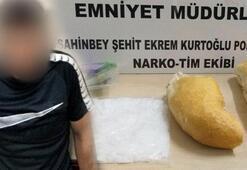 Gaziantepte ekmek arasından uyuşturucu çıktı