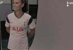 Alex Morganın Tottenhamdaki ilk günü...