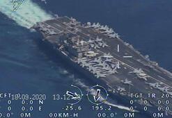 Son dakika... Dünya çalkalanıyor ABD uçak gemisine nişan alıp...