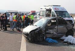 Son dakika: TEMde korkunç kaza Ölü ve yaralılar var