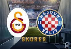 Galatasaray Avrupada sahne alıyor Galatasaray-Hajduk Split maçı ne zaman saat kaçta hangi kanalda