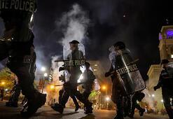 ABDde Taylor davası sonrası başlayan protestolarda bir polis vuruldu