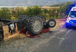 Adıyaman'da feci kaza Baba oğul ölümden döndü