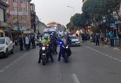 Bursada polis, jandarma ve sağlıkçılardan tedbir anonsları