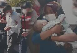 Boşanma aşamasındaki eşinden 1 saatliğine aldığı bebeğini kaçırdı