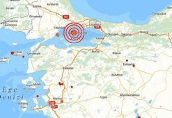 Son dakika: İstanbulda korkutan deprem İstanbul Valiliğinden ilk açıklama...