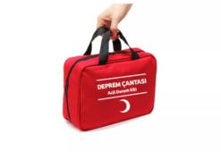 Deprem çantası listesi | Deprem çantası içindeki malzemeler neler, nasıl hazırlanır